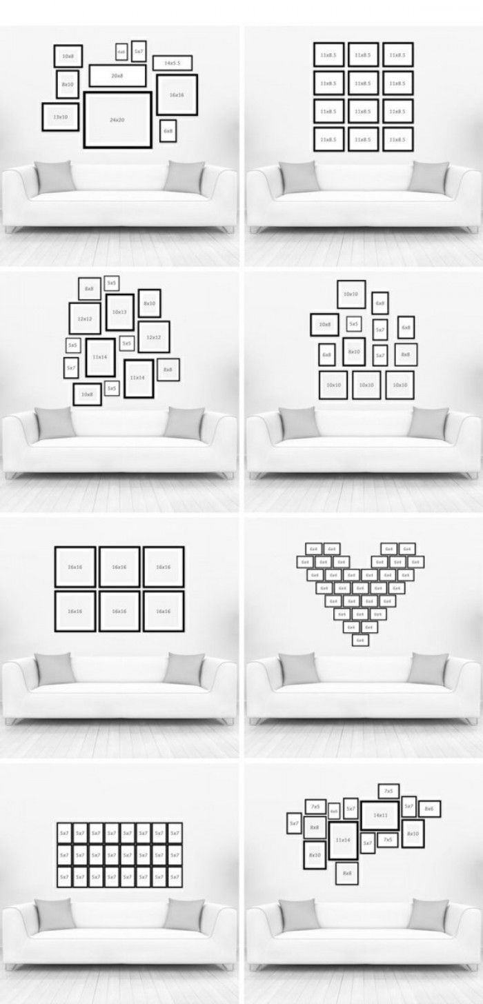 die 25 besten ideen zu foto collage w nde auf pinterest. Black Bedroom Furniture Sets. Home Design Ideas