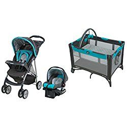 Graco Click Connect Travel System with On The Go Playard, Finch Green