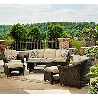 Best First Choice Toronto 6 Piece Outdoor Deep Seating Set 400 x 300