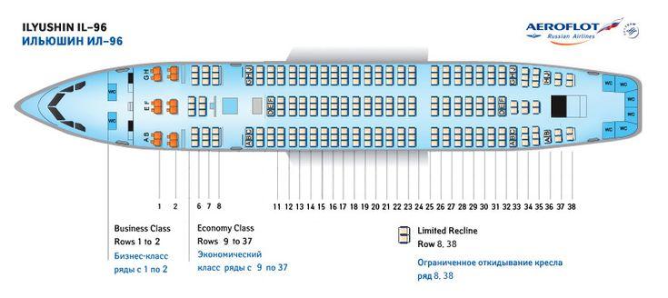 AEROFLOT (RUSSIAN) AIRLINES ILYUSHIN IL-96 AIRCRAFT ...