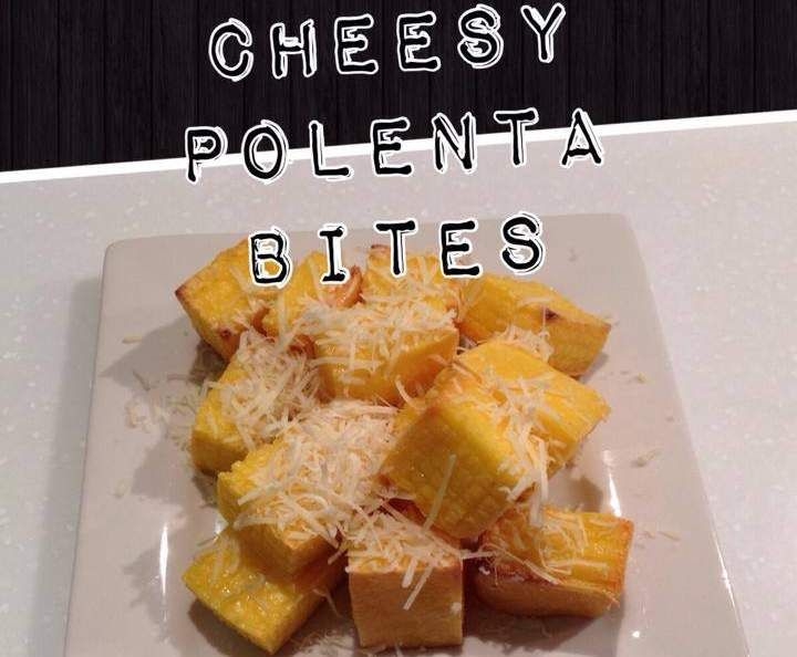 Recipe CHEESY POLENTA BITES by Thermomixin' Kitchen Vixen - Recipe of category Side dishes
