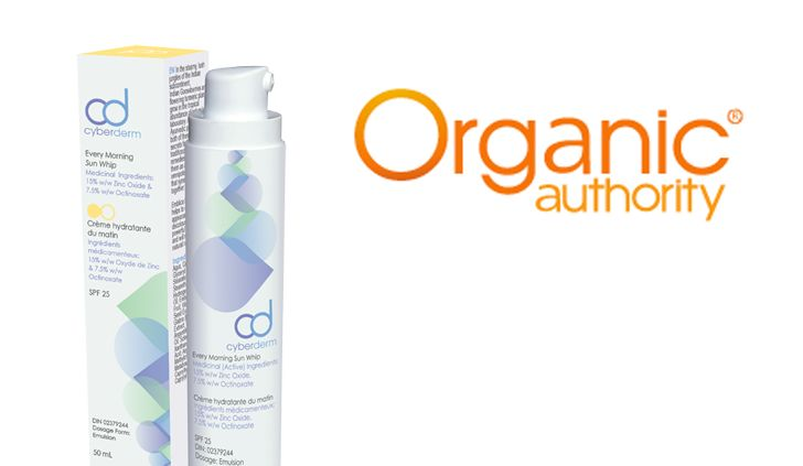 Organic Authority 2014 - Thanks to Organic Authority for naming our Every Morning Sun Whip one of their top picks for the best safe and natural Sunscreen and Moisturizer!