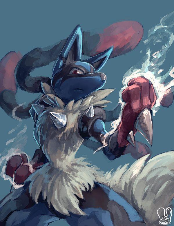 Pokemon Mega Lucario By Sa Duideviantart On DeviantArt