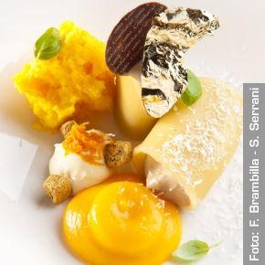 Crema di zucca, nocciola e paccheri - Chef Gianluca Fusto