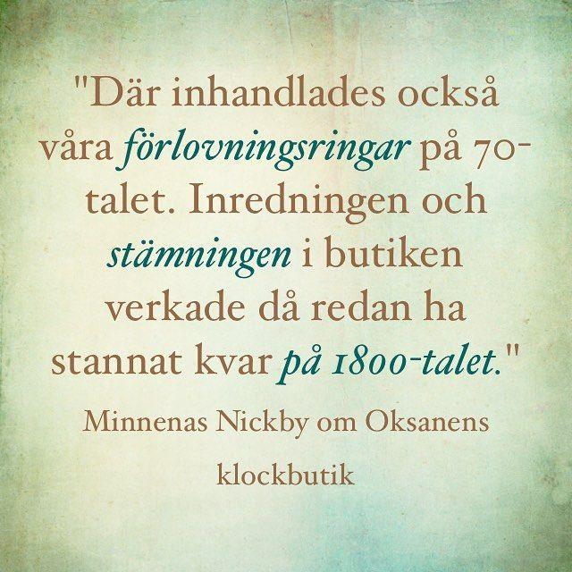#muistojennikkilä #plockfrånenkäten #poimintakyselystä #sipoo #sibbo #nikkilä #nickby #nickbyminnen #oksanensklockbutik