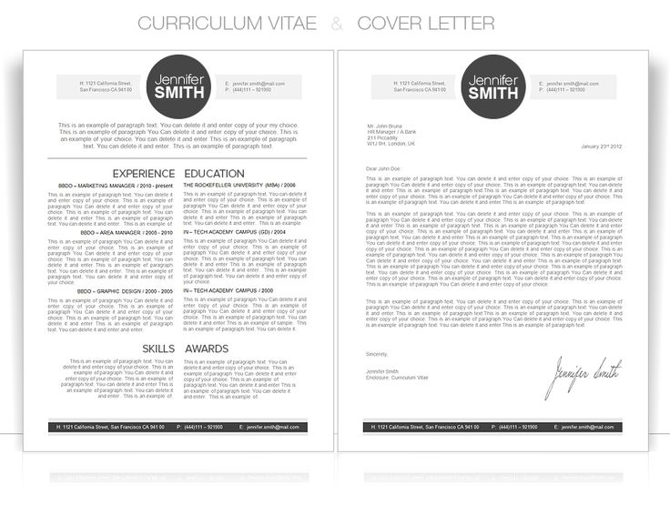 17 best images about resume    curriculum vitae on pinterest