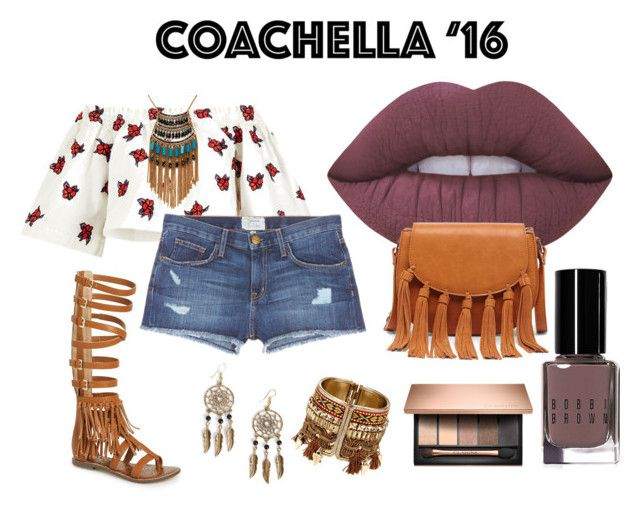 """Untitled #30"" by archita-dewi on Polyvore featuring House of Holland, Sam Edelman, Current/Elliott, Lime Crime, Sole Society, Leslie Danzis, Boohoo and Bobbi Brown Cosmetics"
