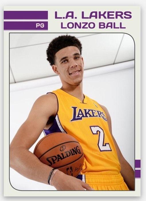 LONZO BALL UCLA BRUINS CUSTOM ROOKIE CARD 2017 NBA Draft LA Lakers Rc Big Baller | Sports Mem, Cards & Fan Shop, Sports Trading Cards, Basketball Cards | eBay!