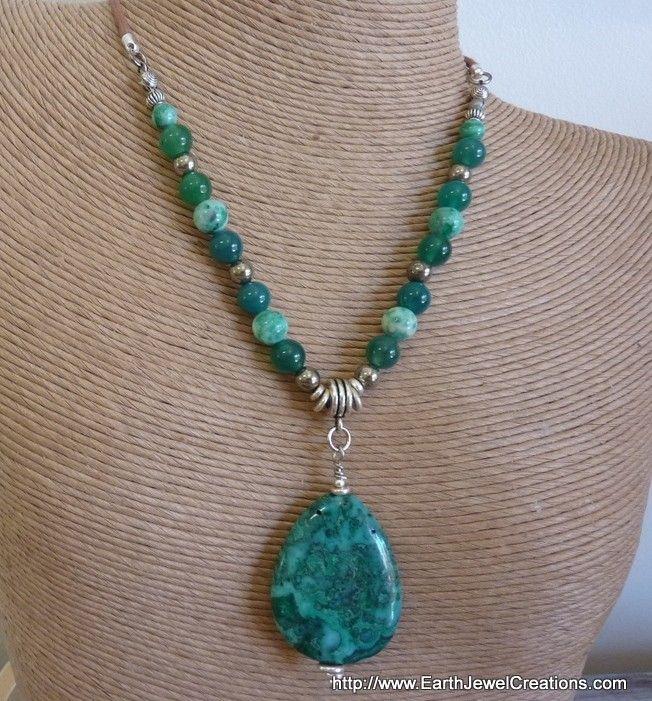 """Agate """"Joy  Love"""" Pendant - handmade crystal energy gemstone jewellery Earth Jewel Creations Australia"""