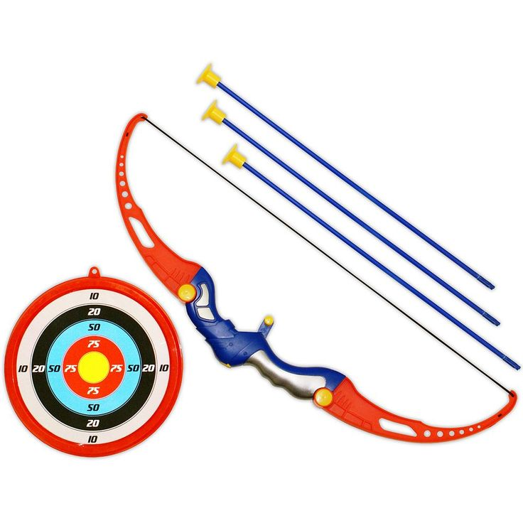 Gamenamics Sponge Bugs Kids Archery Set, Multicolor