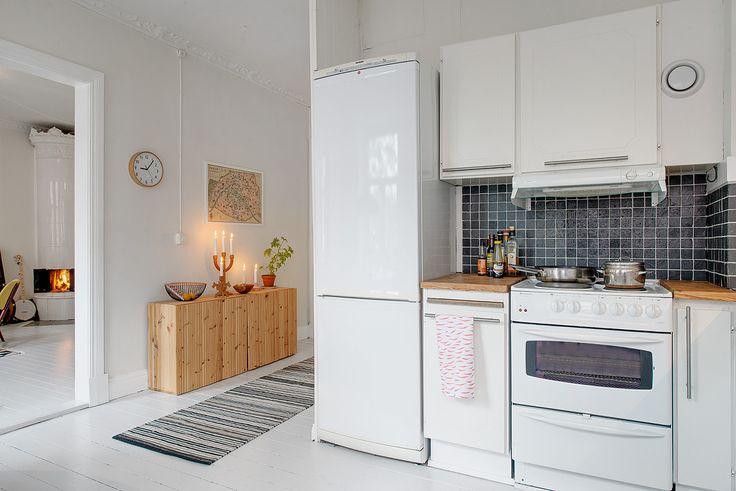 ...gör lägenheten perfekt för socialt umgänge