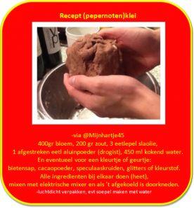 Groep 1/2 Hieronymusschool :: groep1en2hiero.yurls.net Het recept van de speelklei die ik al jaren maak voor mijn kleuters.