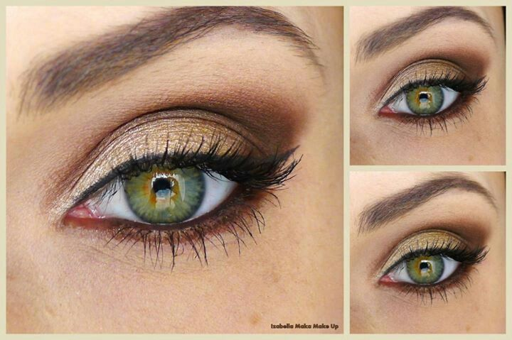 Idea of bringing out the green in my hazel eyes