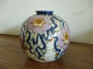 Limoges porcelain vase Camille Tharaud