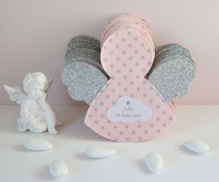 Bykiki c'est des créations personnalisées pour un baptême d'exception : Ballotins de dragées et décorations personnalisées 100% françaises et artisanales...