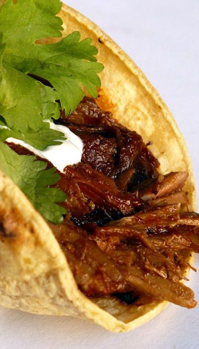 Chile Braised Pork Tacos (1) From: Food People Want, please visit