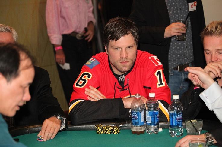 Brian McGrattan at the 2013 Texas Hold 'Em Tournament!