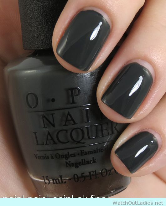 how to make grey nail polish