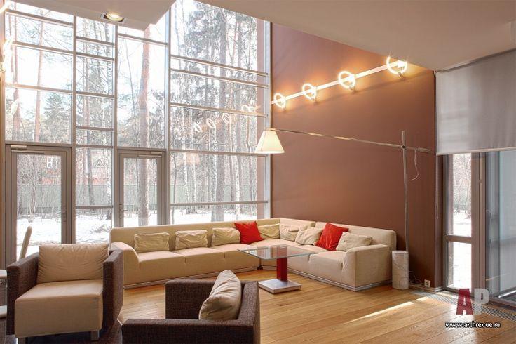 Фото интерьера зоны отдыха дома в стиле минимализм