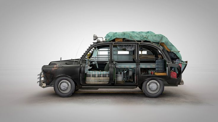 zombie survival vehicle: station wagon
