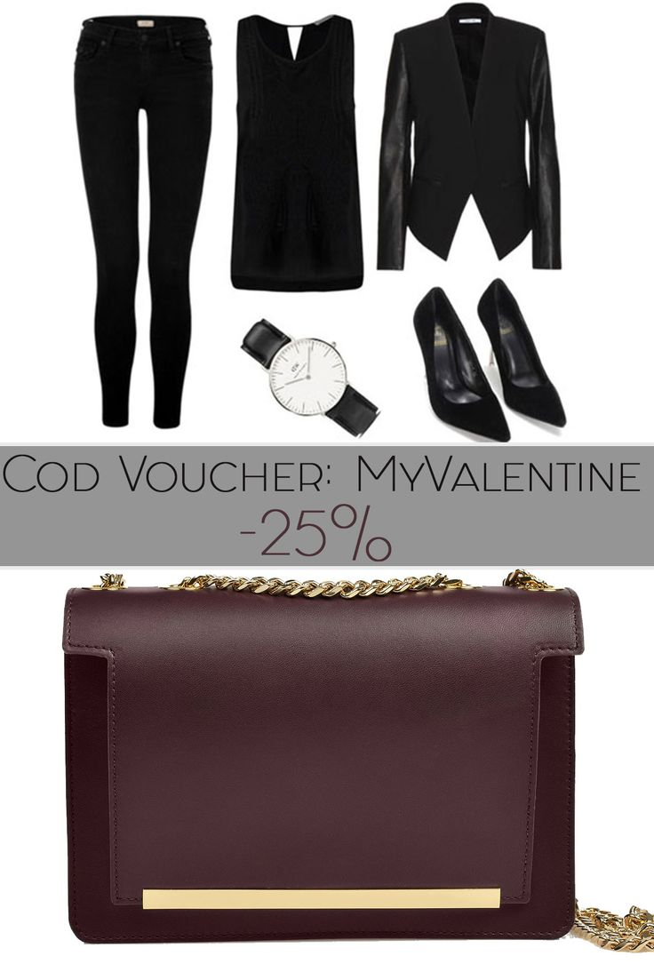 If you love monochromatic outfits, but still want to stand out, pair it with a bold accessory like our fancy Lauren Plum Bag. You can find it here  http://bit.ly/Geanta-Lauren-Plum And because February is the month of love, use the code MYVALENTINE and get a 25% discount.