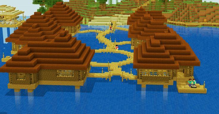 Minecraft Ocean Small Cabin