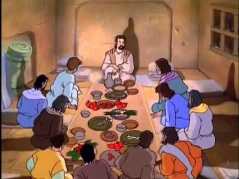 tekenfilm leven van Jezus in het Nederlands 1u 29min.