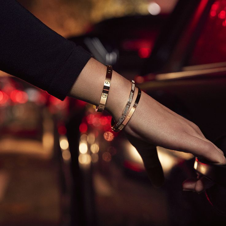 The iconic Cartier Love Bracelet, but slimmer. Meet your new LOVE.