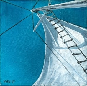 some of my own work  'New Sail'