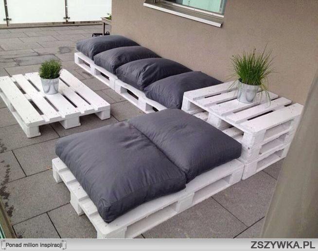 zobacz zdj cie kocham meble z palet palety palettes. Black Bedroom Furniture Sets. Home Design Ideas