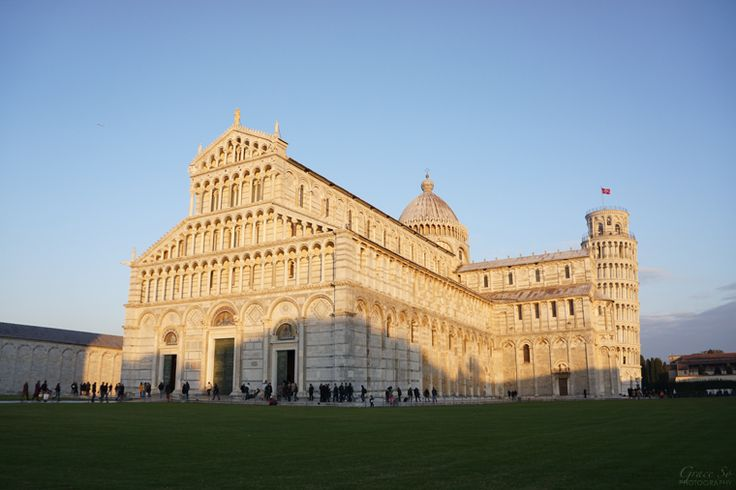 The Pisa Cathedral in Pisa, Italy.