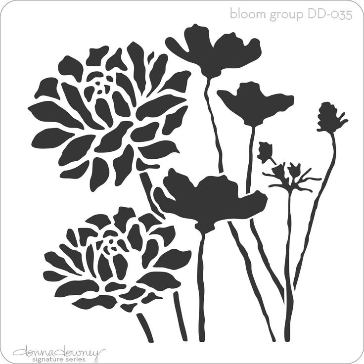 donna downey signature stencils - bloom group - Donna Downey Studios Inc - 3