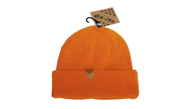 Urban Fisherman beanie orange