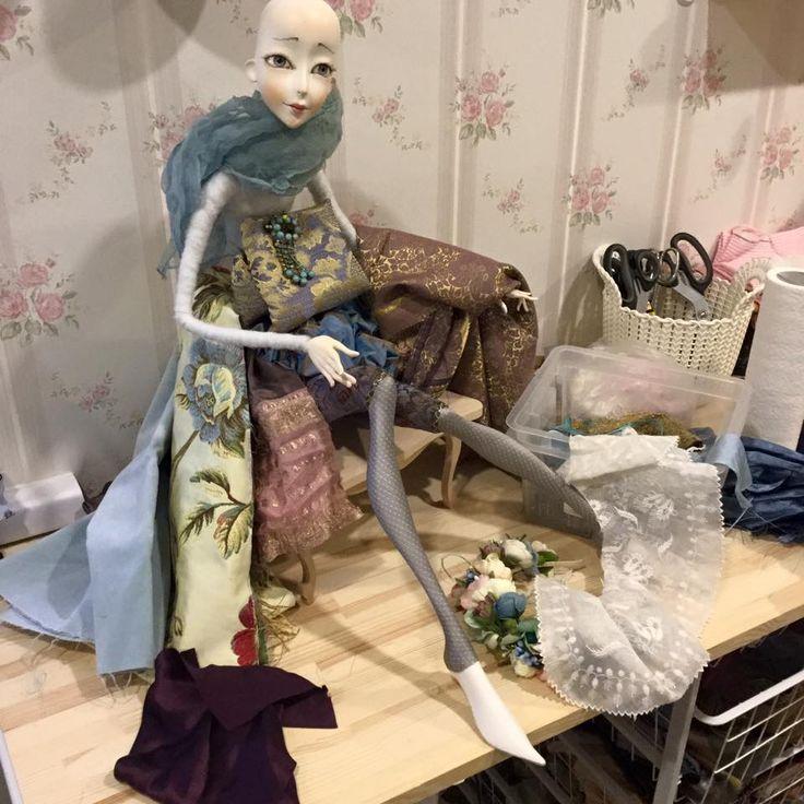 Аннадан, Коллекционные куклы, обучающие диски с мастер-классами по куклам,