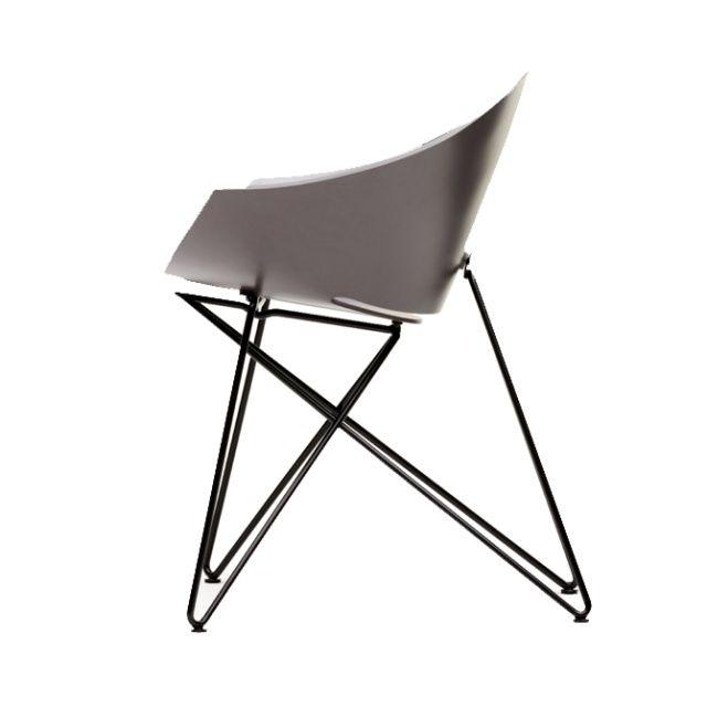 RM56 Composite Armchair - VZÓR  After realisation in plywood, armchair obtain new design in winidur.