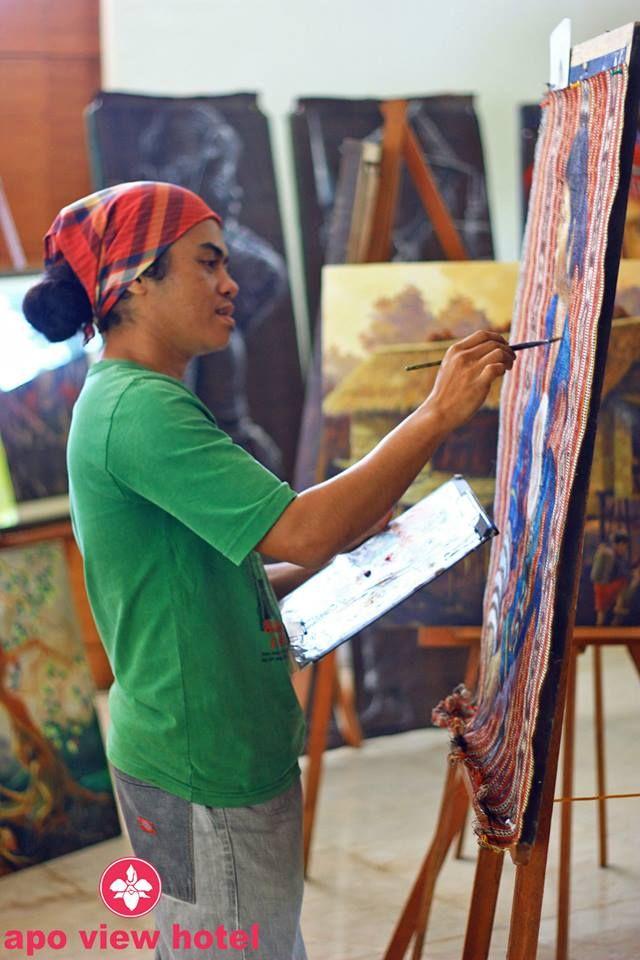 Painting by Ronald Tamfalan