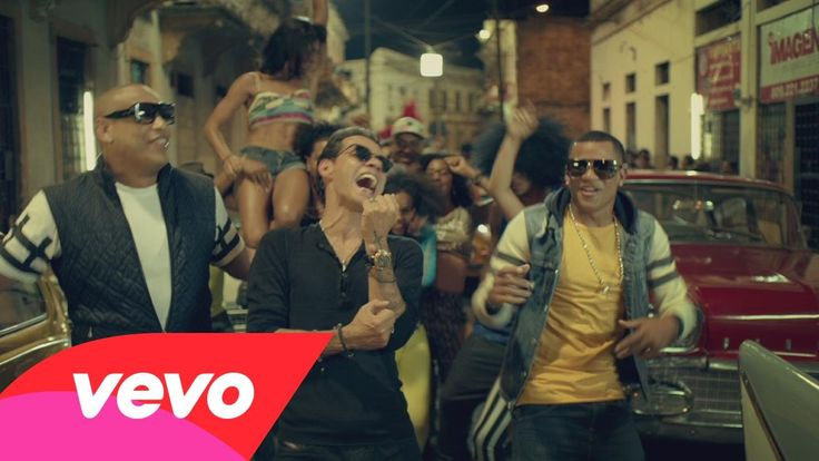 Gente De Zona - La Gozadera (Official Video) ft. Marc Anthony. Would be good class theme song for 2015 Mes de la Herencia Hispana.
