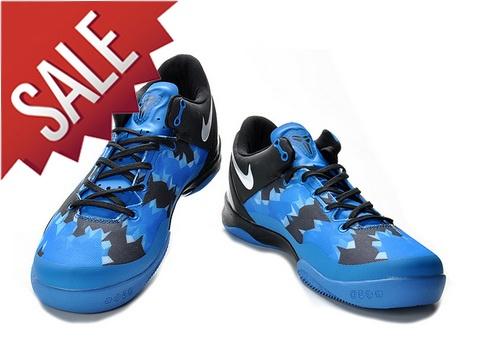 Nike Zoom Kobe 8 Royal Blue Black White,Style code:555035-401,