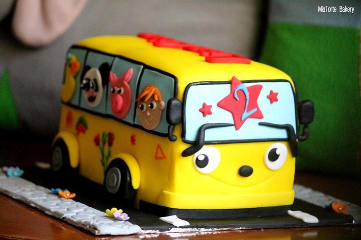 3d bus Cake