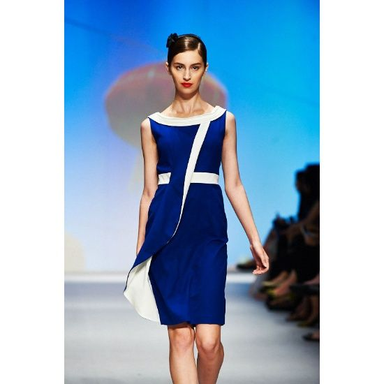 Online Buy Wholesale blue and white cocktail dress from China blue
