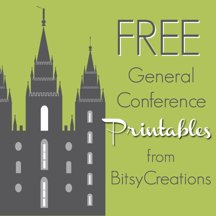 It's just a photo of Clever Free Lds Printables