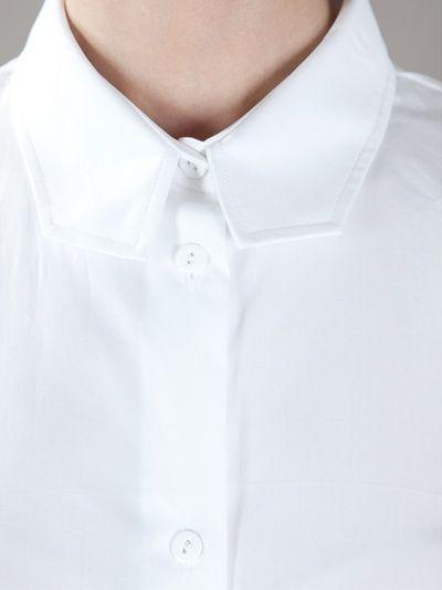 CARVEN - structured collar shirt 5