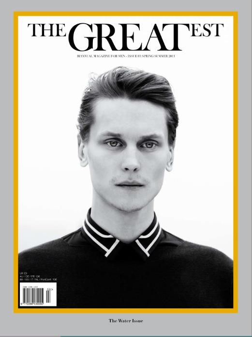 THE GREATEST #3  SPRING SUMMER 2013 OUT NOW !!  PHOTO PAOLO ZERBINI FASHION EDITOR MATTEO GRECO GROOMING VALENTINO PERINI  MODEL Tomek Szczukiecki TOTAL LOOK Dior