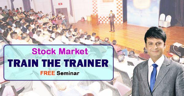 Join us to Our Next Seminar Share Market Train The Trainer Location: 1st Seminar - Date: 29/07/2017 - Saturday Time: 7.00 PM Venue: Toni Hall, 3rd floor, Antonia D'Silva Shool, Kabutar Khana Dadar (W) 2nd Seminar - Date: 30/07/2017 - Sunday Time: 7.00 PM Venue: Alka Hotel 4th Floor, Nr. Ashok Talkies, Near Station, Thane(W) Nimish Sir  Dhanashri Academy Contact no.+91 7045654722 WebSite- www.dhanashriacademy.com