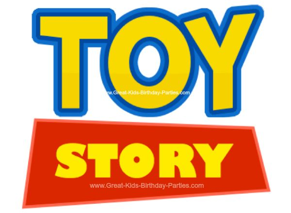 fantastic assortment of disney fonts and ideas for printables - Toy Story Activity Center Download