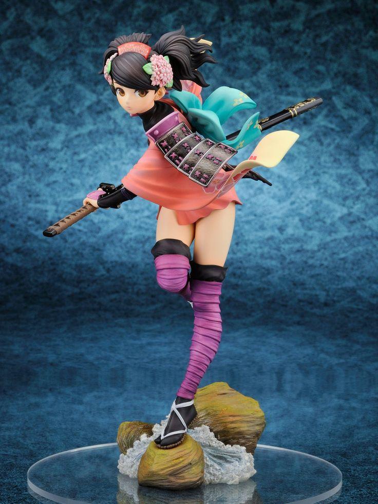 Amazon.com: Muramasa The Demon Blade: Momohime 1/8 Scale PVC Figure: Toys & Games