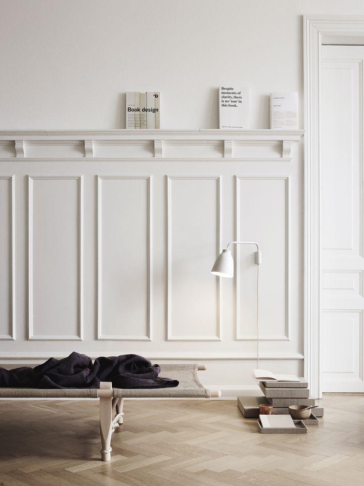 Caravaggio Wall White - install. 14447