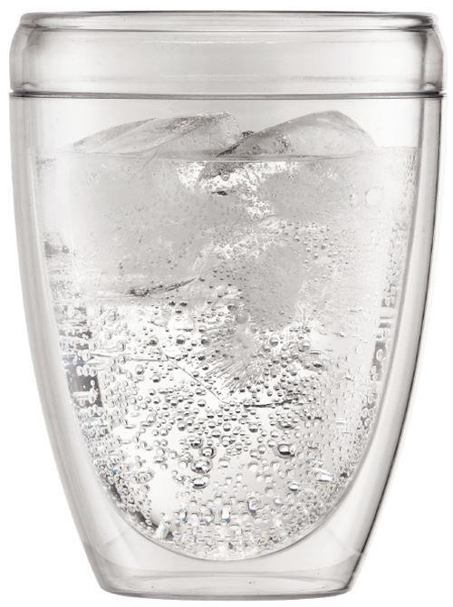 Bodum Pavina Outdoor 35cl set 6 stuks  Bodum Pavina Outdoor 35cl set 6 stuks De dubbelwandige Bodum Pavina Outdoor glazen zijn ideaal voor tripjes buitenshuis of tijdens de familie barbecue.De glazen zijn gemaakt van kunststof en zijn daardoor breuk- en krasbestendig.Ideaal is ook dat ze na gebruik zo de vaatwasser in kunnen! Dubbelwandige glazen Set van 6 glazen Vaatwasserbestendig  Materiaal: kunststof Inhoud: 35 cl Afmetingen (B x H x D): 85 x 85 x 12 cm  EUR 29.95  Meer informatie