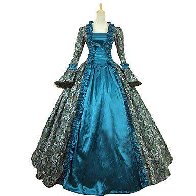 Badedrakt/Kjoler Gotisk Lolita Klassisk og Tradisjonell Lolita Vintage Inspireret Elegant Victoriansk Rokoko Prinsesse Cosplay 5525094 2017 – kr.1.007
