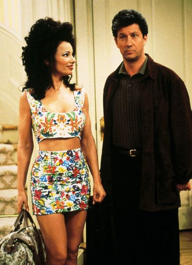 Fran Drescher. Love her so much. And as The Nanny: hair IDOL.